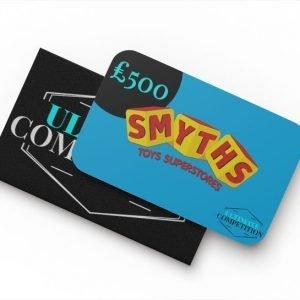 £500 Smyths Voucher